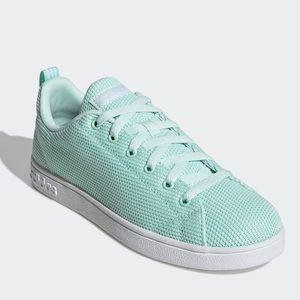 New ADIDAS Tennis Shoes Mint Green Sneakers
